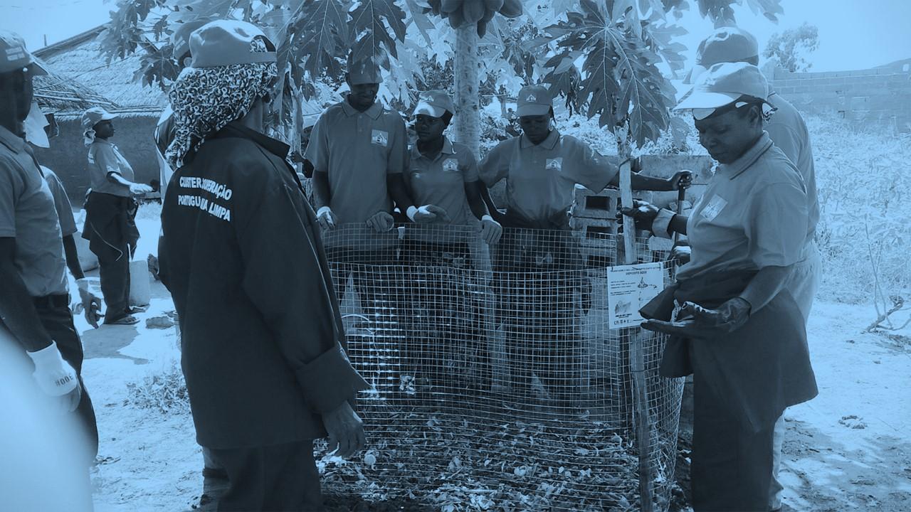 Fotos site ECOGESTUS COMPOSTAGEM Moçambique Ilha