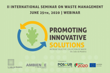II INTERNATIONAL SEMINAR ON WASTE MANAGEMENT         JUNE 25th, 2020 / WEBINAR