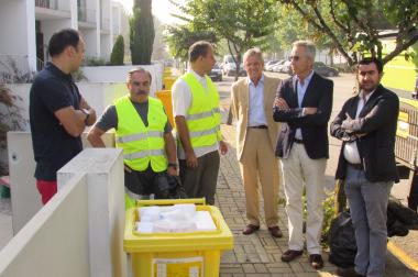 Pilot project: door-to-door collection – São João da Madeira – August 2016